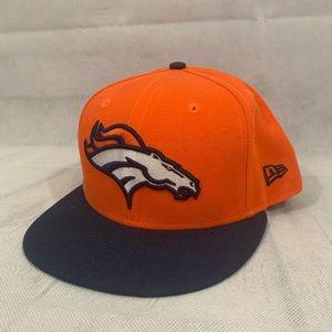 New Era Denver Broncos 59FIFTY NFL Hat Sz 7 3/4